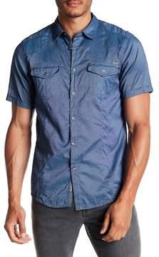 ProjekRaw Projek Raw Short Sleeve Woven Modern Fit Shirt