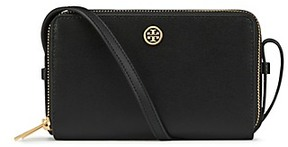 Tory Burch Parker Double-Zip Mini Bag - BLACK - STYLE