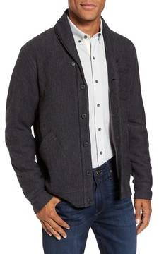 Nordstrom Men's Fleece Lined Shawl Collar Cardigan
