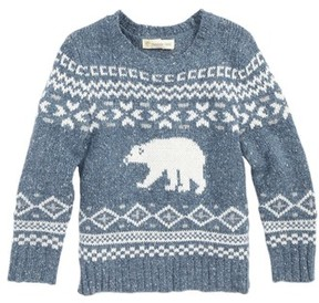 Tucker + Tate Toddler Boy's Polar Bear Fair Isle Sweater