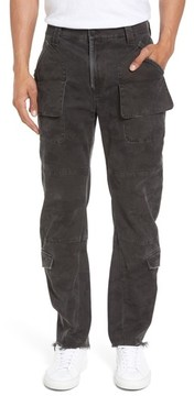 Hudson Men's Endeavor Relaxed Straight Leg Cargo Pants