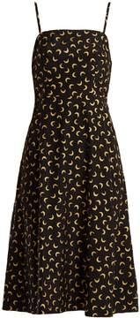 DAY Birger et Mikkelsen HVN Nora moon-print silk slip dress