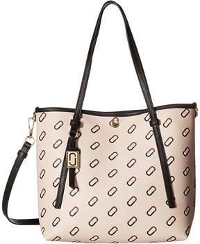 Marc Jacobs Always Full Logo Scream Small Shopping Tote Handbags