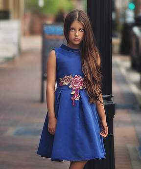 Bardot Navy Dress - Toddler