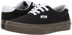 Vans Kids Era 59 Black/Gum) Boys Shoes