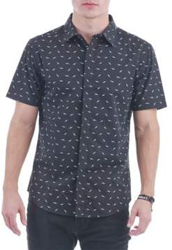 Sovereign Code Printed Short-Sleeve Button-Down Shirt