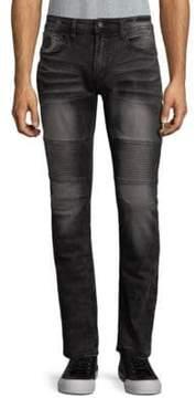 Buffalo David Bitton Distressed Skinny Jeans