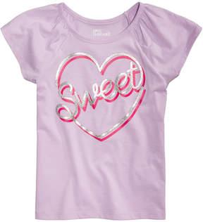 Epic Threads Little Girls Sweet Heart T-Shirt, Created for Macy's
