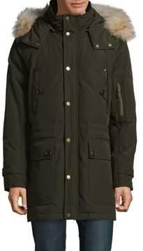 Pendleton Fur-Trimmed Coat