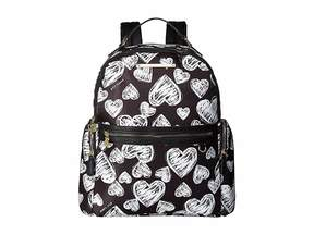 Betsey Johnson Printed Backpack Backpack Bags