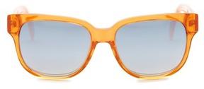 Diesel Women's Square Plastic Sunglasses