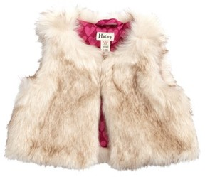 Hatley Infant Girl's Faux Fur Vest