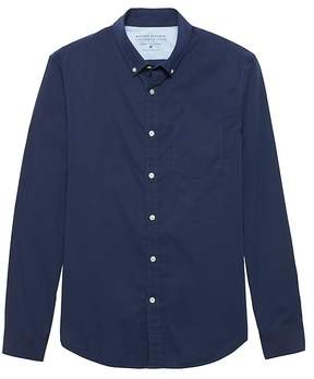 Banana Republic Grant Slim-Fit Luxe Poplin Shirt