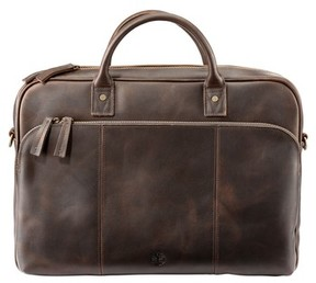 Timberland Men's Tuckerman Leather Briefcase - Brown