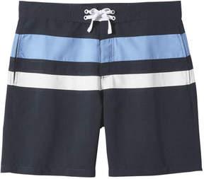 Joe Fresh Men's Colour Block Active Board Short, JF Midnight Blue (Size S)