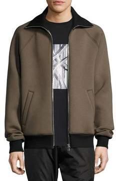 Public School Clifton Neoprene Zip-Front Jacket