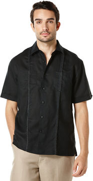 Cubavera Short Sleeve 2 Upper Pockets With Front Tucking