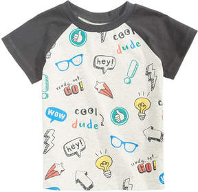 First Impressions Sketch-Print T-Shirt, Baby Boys (0-24 months), Created for Macy's