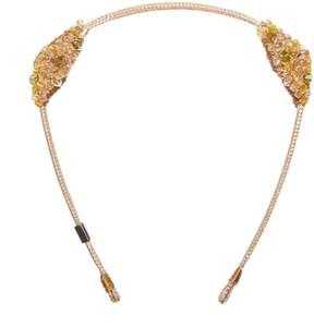 Colette Malouf - Crystalized Maneframe Headband Sun