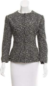 Christian Dior Melangé Long Sleeve Jacket