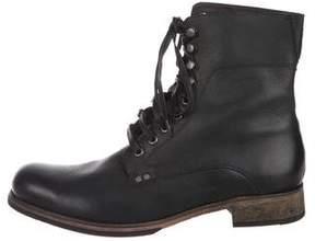 John Varvatos Bonham Combat Boots
