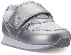 Polo Ralph Lauren Toddler Girls Propel Stay-Put Closure Casual Sneakers from Finish Line