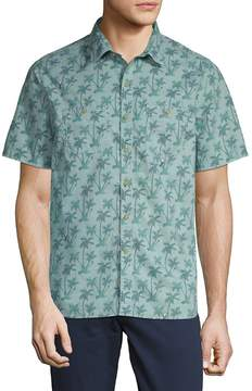 Michael Bastian Men's Printed Cotton Button-Down Shirt