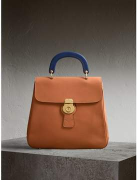 Burberry The Large DK88 Top Handle Bag - BRIGHT TOFFEE - STYLE