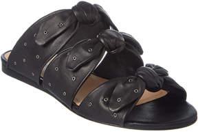 Pour La Victoire Logan Leather Slide