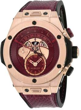 Hublot Big Bang Unico Chronograph Vino 18kt King Gold Automatic Limited Kobe Bryant Edition Men's Watch