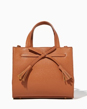 Charming charlie Penelope Bow Mini Satchel