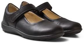 Primigi Black Leather Olea Mary Jane School Shoes