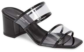 Charles David Cally Transparent Strap Slide Sandal