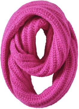 Joe Fresh Women's Essential Knit Infinity Scarf, Fuchsia (Size O/S)