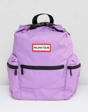 Hunter Thistle Color Block Mini Nylon Backpack