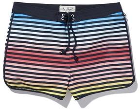 Original Penguin Ombre Stripe Box Swim Short
