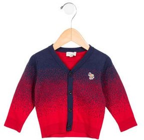 Paul Smith Boys' Cashmere-Blend Zip-Up Cardigan w/ Tags