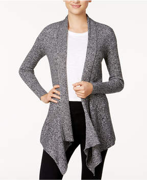 Bar III Open-Front Waterfall Cardigan, Created for Macy's