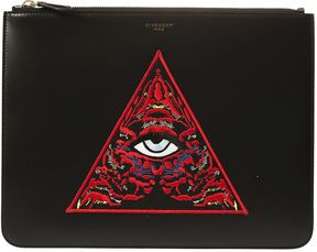 Givenchy Embroidered Clutch
