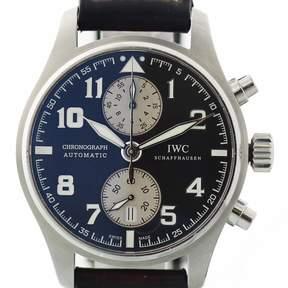IWC Pilot Chronograph Automatic Black Dial Men's Watch