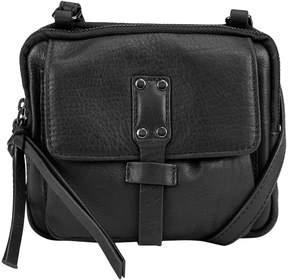 Kooba Black Opus Mini Leather Crossbody Bag