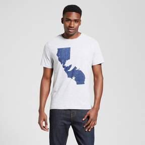 Awake Men's California Bear State T-Shirt - Heather Gray