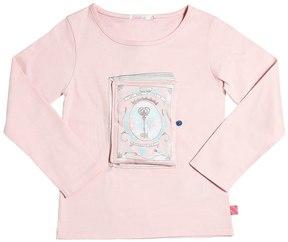 Billieblush Book Printed Cotton Jersey T-Shirt