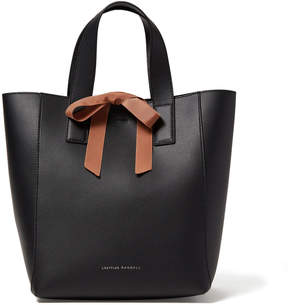 Loeffler Randall Ribbon Shopper Bag in Black/Brown
