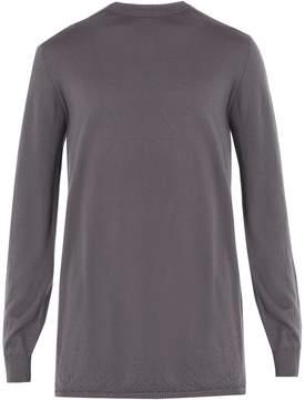 Rick Owens Maglia crew-neck cashmere sweater