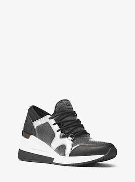 Michael Kors Scout Mesh And Logo Sneaker