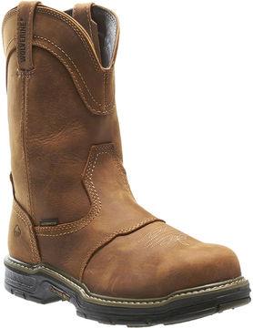 Wolverine Multishox Anthem Mens Waterproof Steel-Toe Work Boots