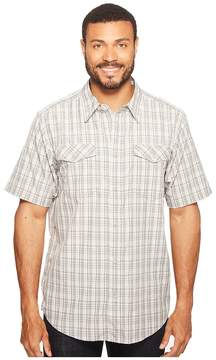 Exofficio Arruga Plaid Short Sleeve Shirt Men's Short Sleeve Button Up