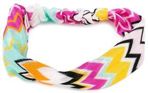 Missoni Kids zigzag head band