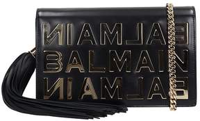 Balmain Logo Lettering Clutch